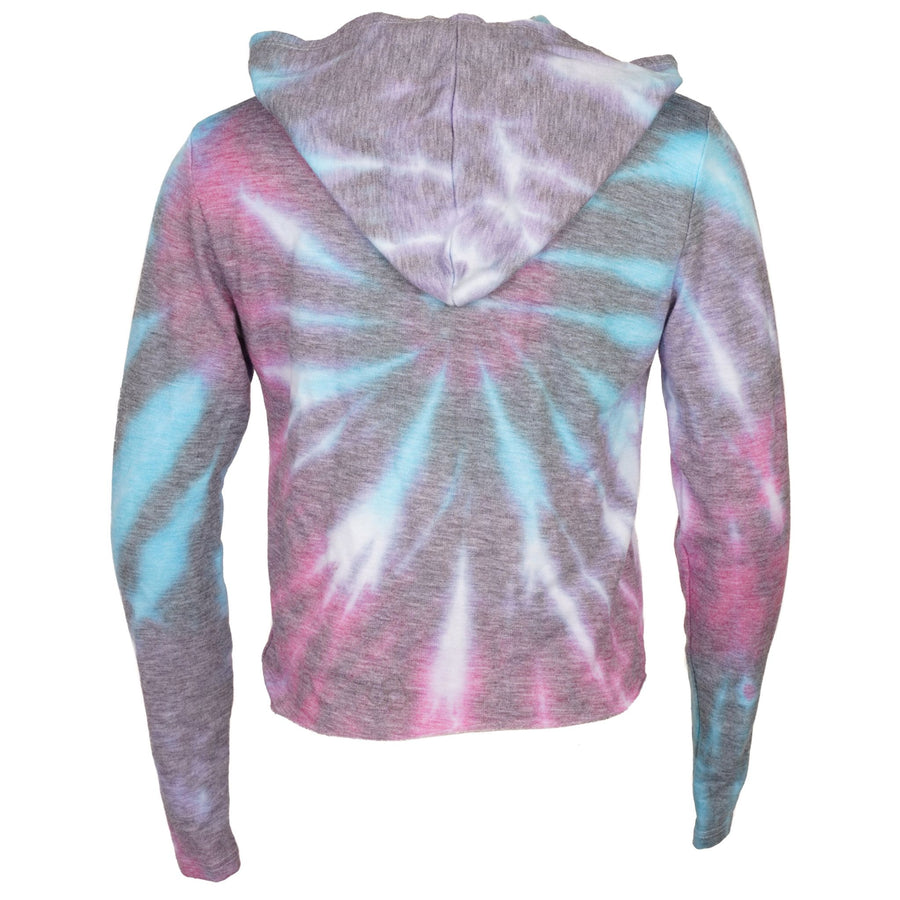 Ruby Tie Dye French Terry Hoodie Long Sleeve