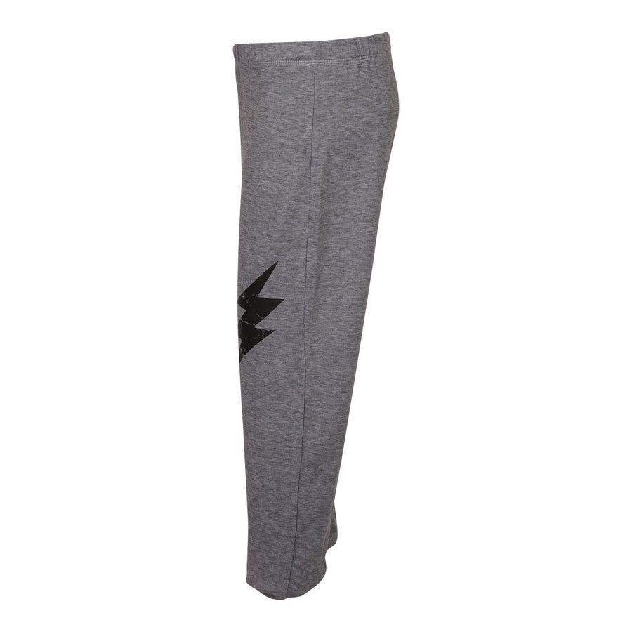 Black Bolt Push Up Pant
