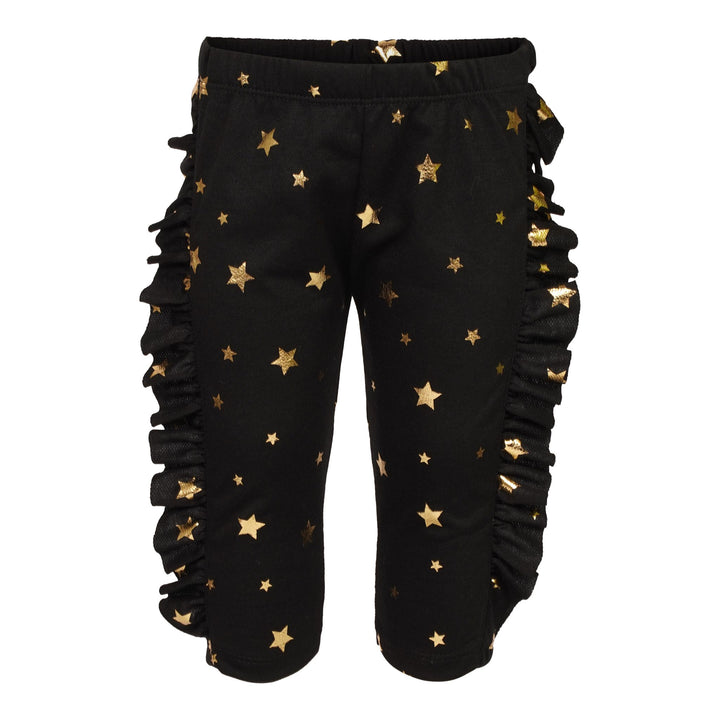 Gold Star Ruffle Sweatpant