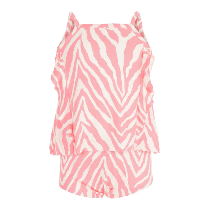 2 Piece Swing Set Neon Zebra Pink