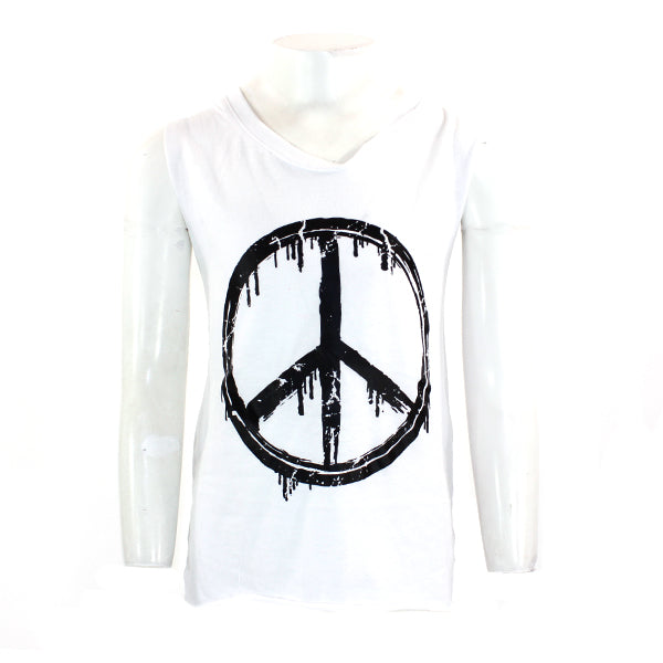 Muscle Tank with Peace Sign
