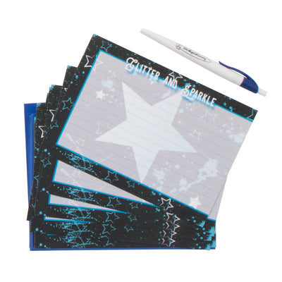 Star Splatter Notepad