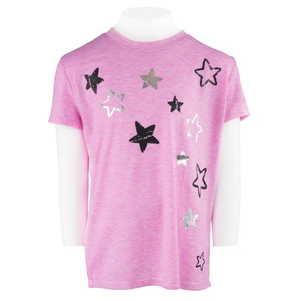 Short Sleeve Tee with Foil Stars