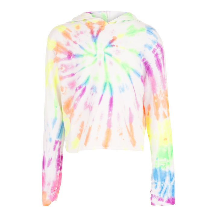 Long Sleeve Cropped Hoody Tie Dye AROD