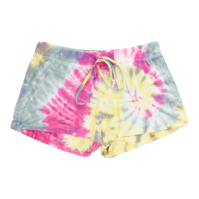 Pink and Yellow Short