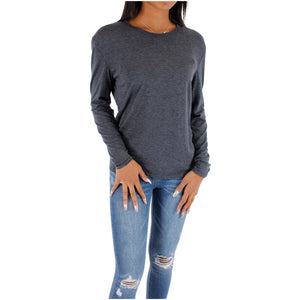 Long Sleeve With Ribbed Neck