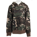 Big RVCA Camo Fleece Hoody