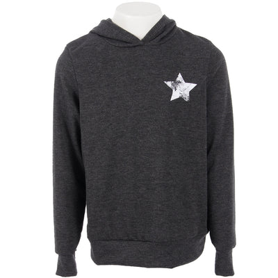 Long Sleeve Sweatshirt Hoody with Star