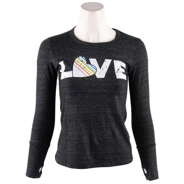 Long Sleeve Thumbhole with Love Love Love