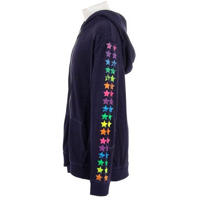 Hacci Hoody with Neon Stars