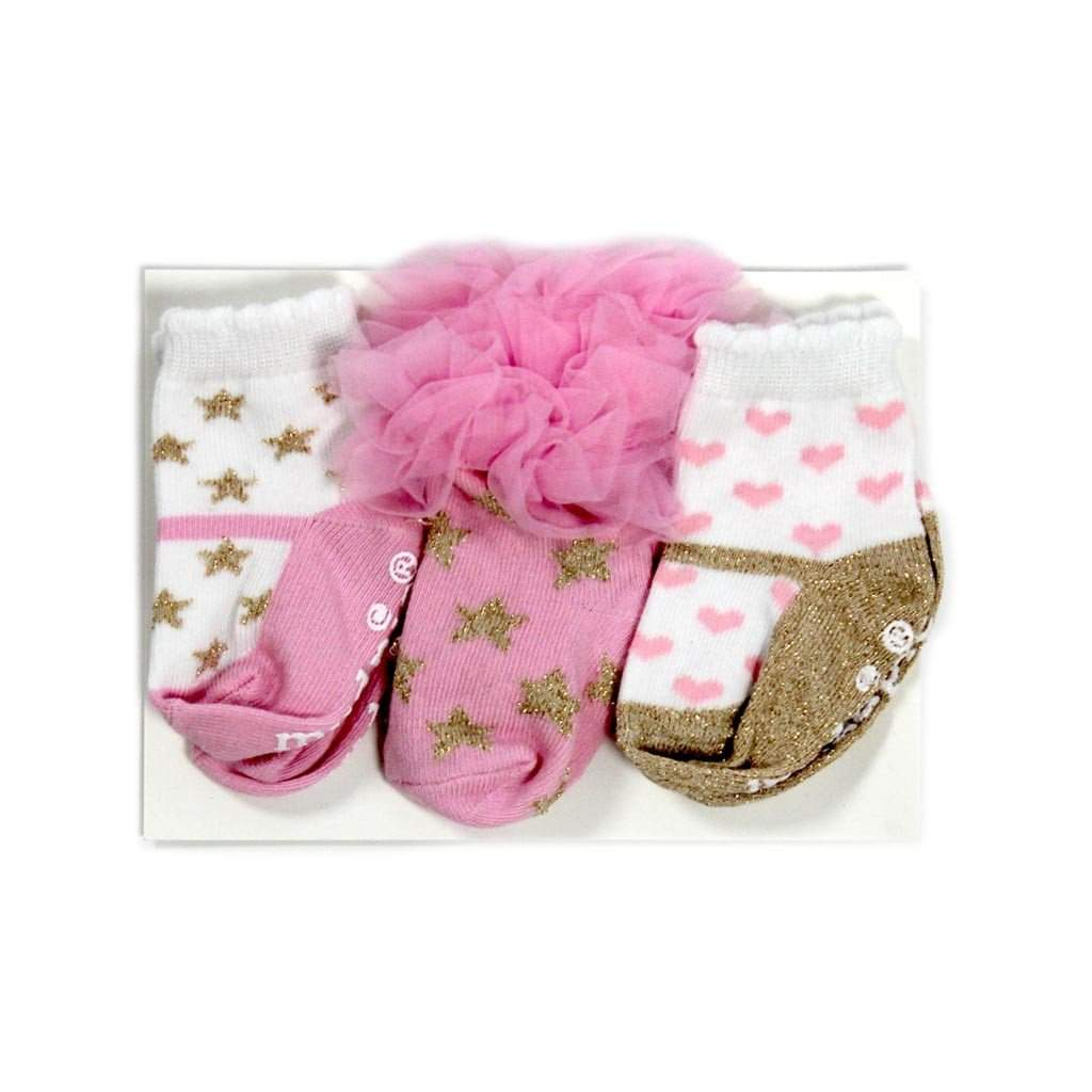 Sock Set Glitter Princess