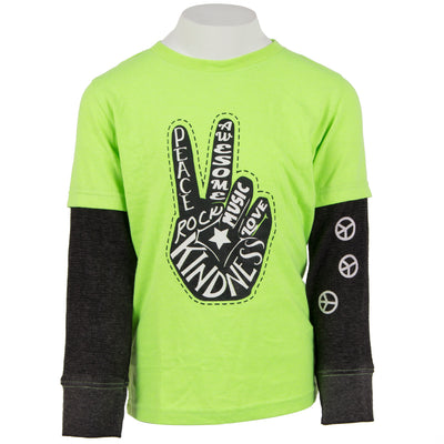 Peace Hand Layer Tee