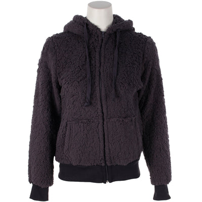 Zipper Fuzzy Jacket