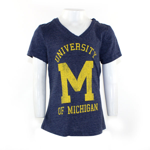V-Neck with Michigan