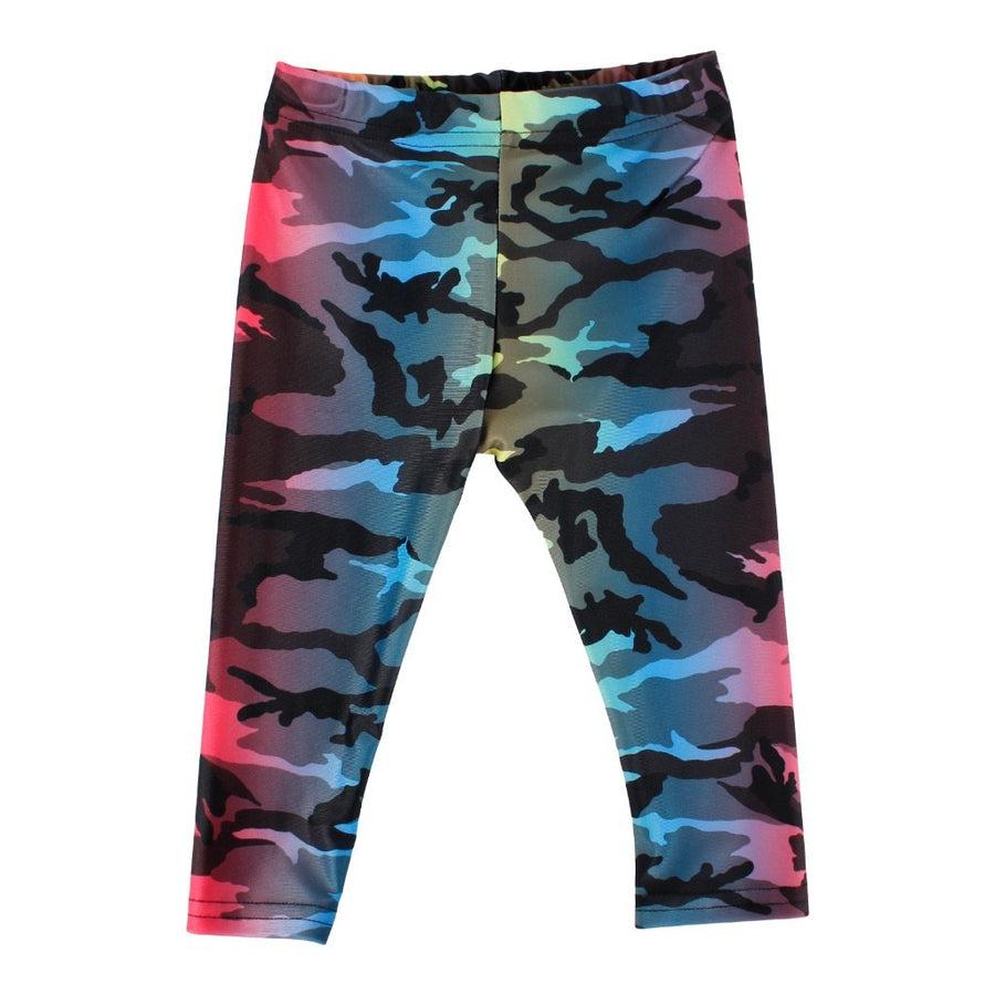 Multi Camo Bright Leggings