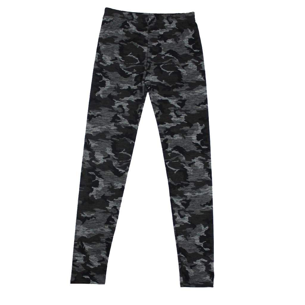 Camo Printed Heathered Legging