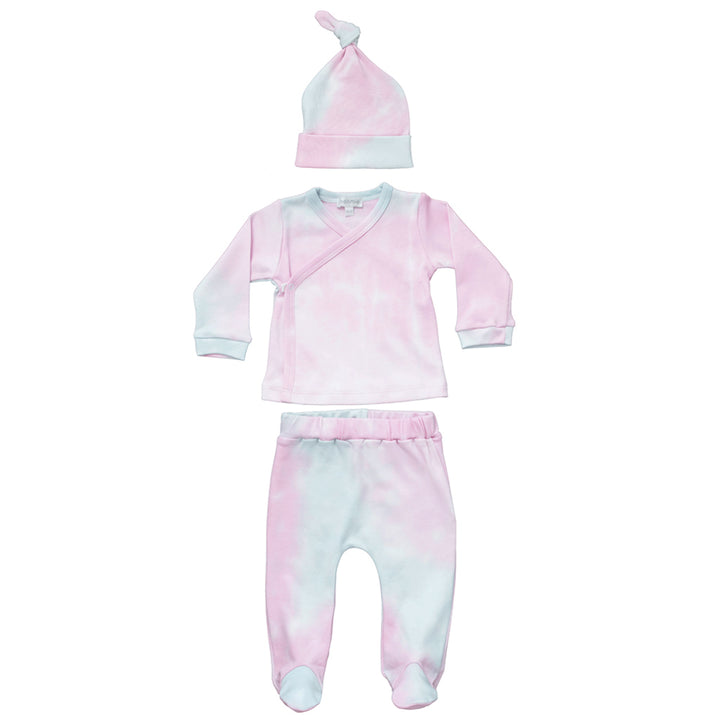 Two Piece Tie Dye Set with Hat