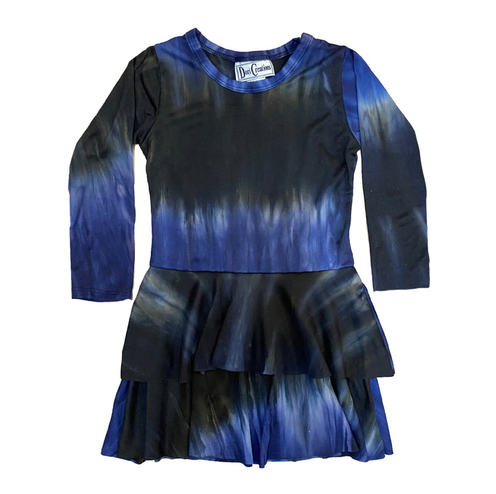 LightningTie Dye Double Tier  Dress