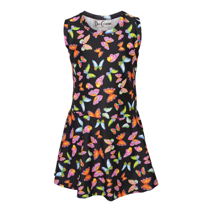 All Over Butterfly Dress