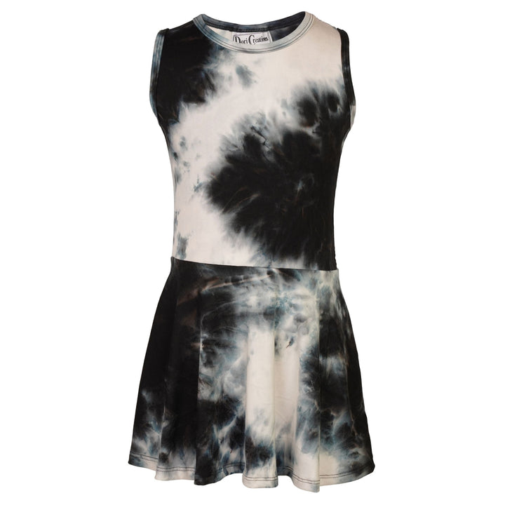 Allover Tie Dye Sleeveless Dress