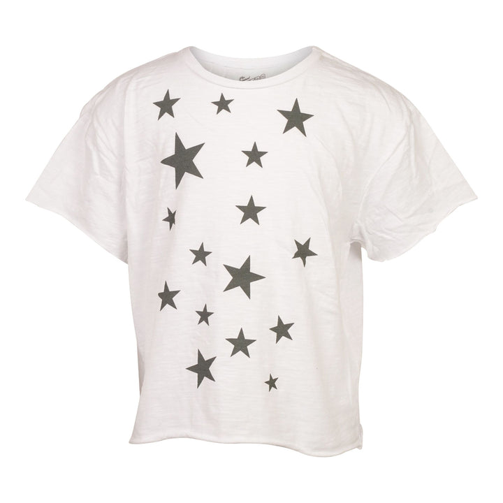 Allover Stars Cropped Tee