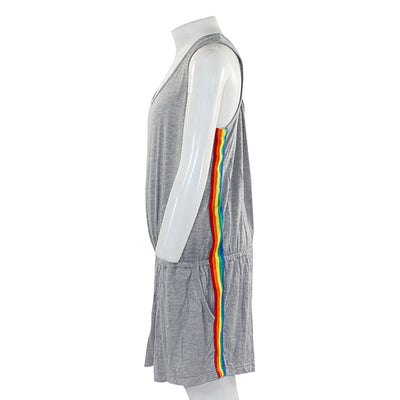 Romper with Rainbow Taping