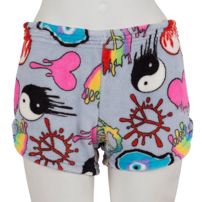 Dripping Graffiti Short