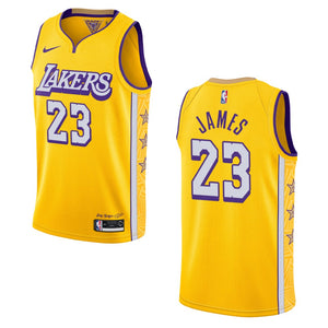 City Edition James/Lakers Jersey