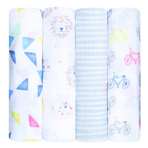 Four Pack Swaddle Leader Of The Pack