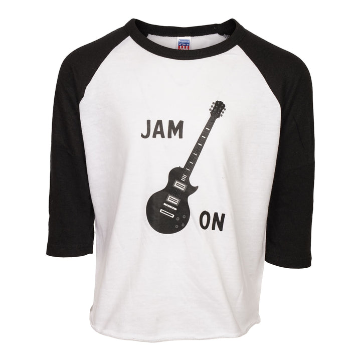Jam On Guitar Raglan