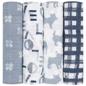 Waverly Four Pack Swaddle