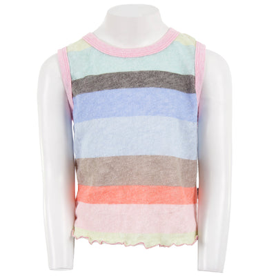 Rainbow Retro Stripe Tank