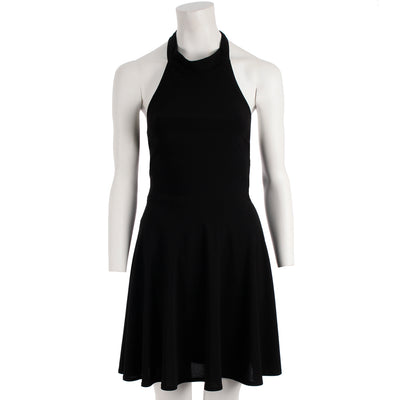 A Line High Neck Dress