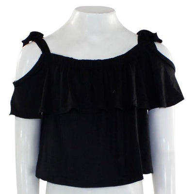 Off The Shoulder Elastic Top