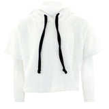 Pull Over Hoodie with Black Stripe