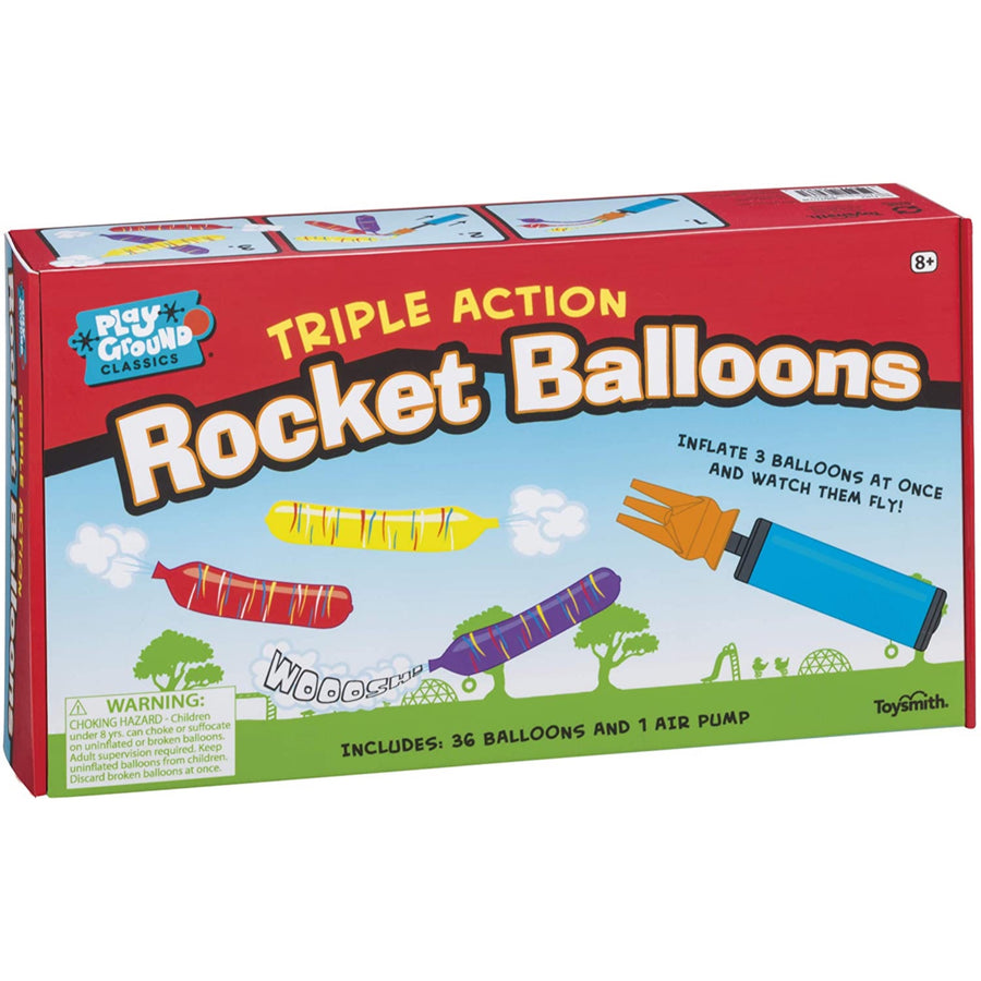 Triple Action Rocket Balloon