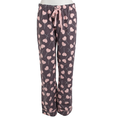 Flannel Hearts Lounge Pant