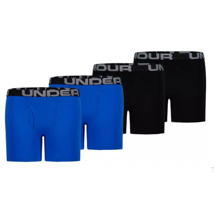 4pk Cotton/poly Boxer Brief