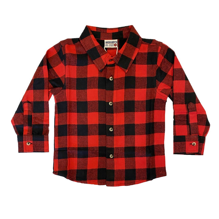 Rock and Roll Flannel Shirt