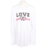 Cold Shoulder with Love Double Hearts