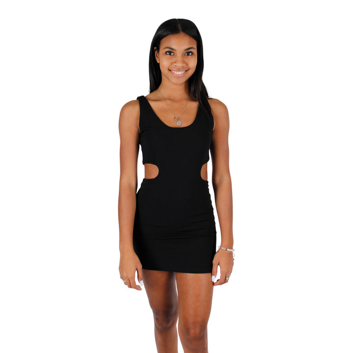 Side Cut Out Mini Dress