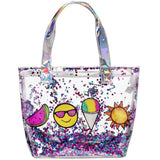 Summer Vibes Tote with Confetti