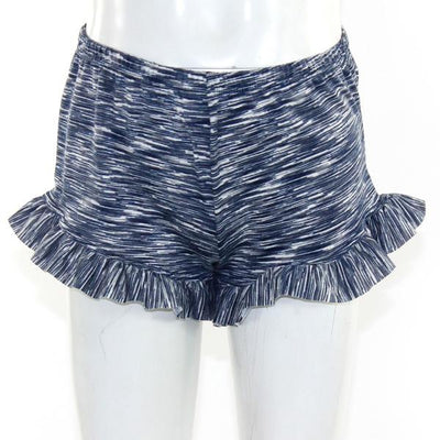 Ruffle Striped Short