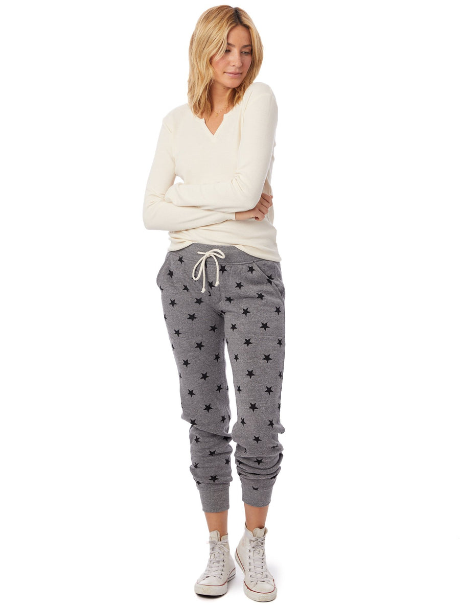 Eco Fleece Star Jogger
