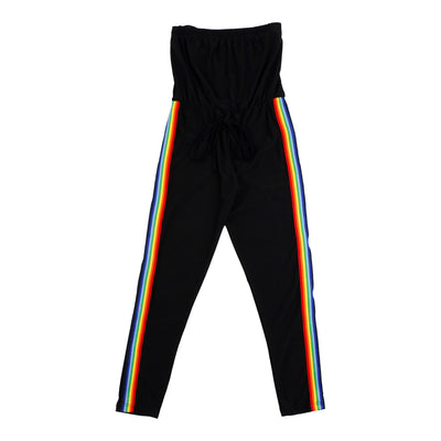 Jumpsuit With Rainbow Stripe
