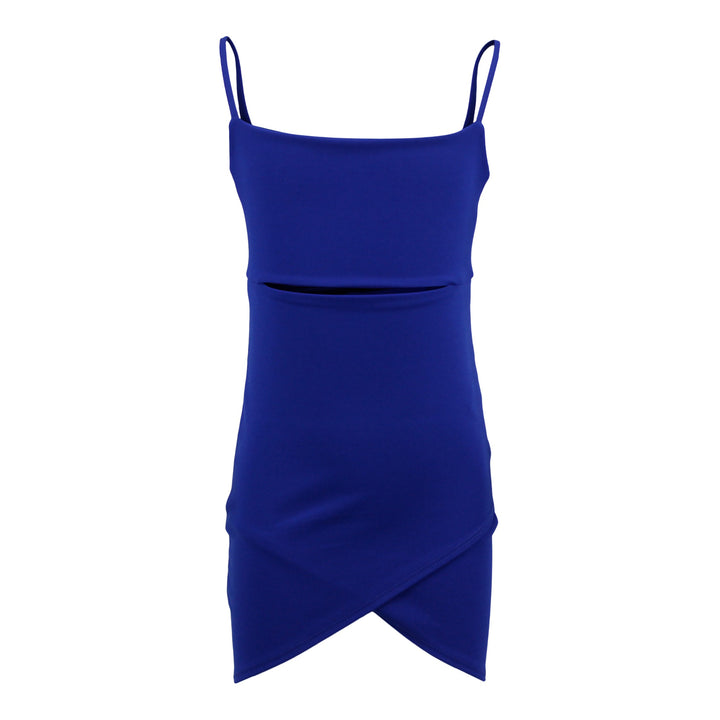 Sleeveless Dress Cutout Middle