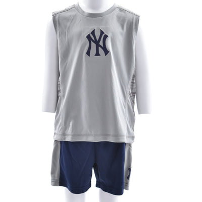 Yankees Short Sleeve Muscle Tee