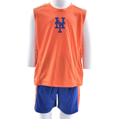 Mets Short Sleeve Muscle Tee
