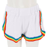 Short with Rainbow Stripe