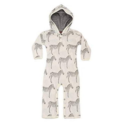 Hoody Coverall Grey Zebra